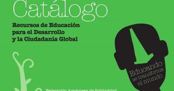 Publicamos el nuevo Catálogo de Recursos de Educación para el Desarrollo y la Ciudadanía Global