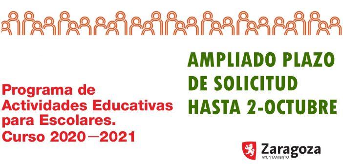 Ampliado hasta 2-octubre el plazo para solicitar actividades de las ONGD de la FAS en el «Programa de Act. Educativas para Escolares 2020-2021»